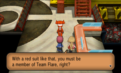 Team Flare Grunt Pass See a Team Flare Grunt